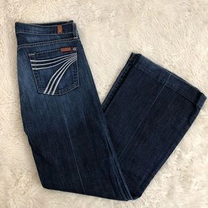 7 For All Mankind Dojo Wise Leg Trouser Jeans